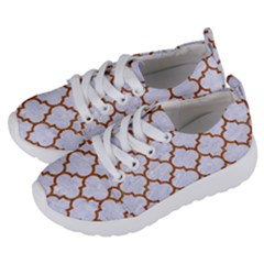 Tile1 White Marble & Rusted Metal (r) Kids  Lightweight Sports Shoes by trendistuff