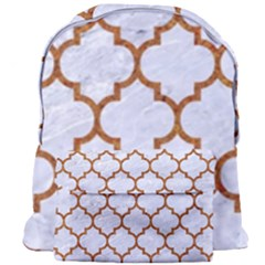 TILE1 WHITE MARBLE & RUSTED METAL (R) Giant Full Print Backpack