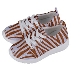 Skin4 White Marble & Rusted Metal Kids  Lightweight Sports Shoes by trendistuff