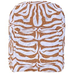 Skin2 White Marble & Rusted Metal (r) Full Print Backpack by trendistuff