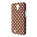 CIRCLES3 WHITE MARBLE & RUSTED METAL (R) Samsung Galaxy Mega 6.3  I9200 Hardshell Case View3