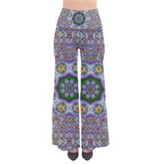 Summer Bloom In Floral Spring Time Pants by pepitasart