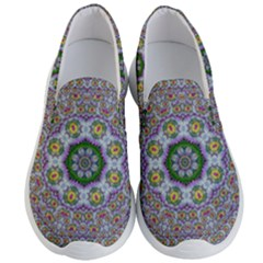 Summer Bloom In Floral Spring Time Men s Lightweight Slip Ons by pepitasart