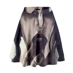 Femininely Badass High Waist Skirt by sirenstore