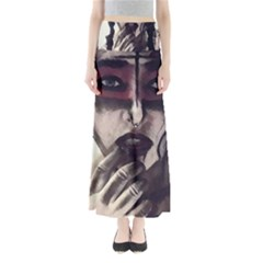 Femininely Badass Full Length Maxi Skirt by sirenstore