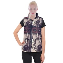 Femininely Badass Women s Button Up Vest