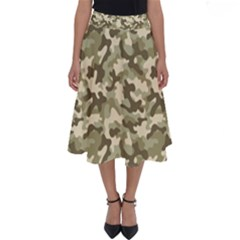 Camouflage 03 Perfect Length Midi Skirt by quinncafe82