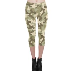 Camouflage 03 Capri Leggings  by quinncafe82