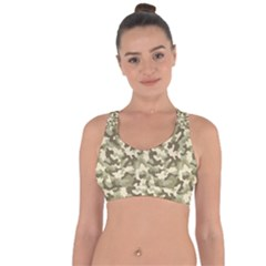 Camouflage 03 Cross String Back Sports Bra by quinncafe82
