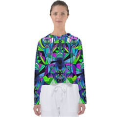 Arcturian Astral Travel Grid - Women s Slouchy Sweat
