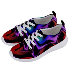 Hot Abstraction With Lines 2 Women s Lightweight Sports Shoes by MoreColorsinLife