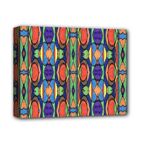 Pattern 26 Deluxe Canvas 14  X 11  by ArtworkByPatrick