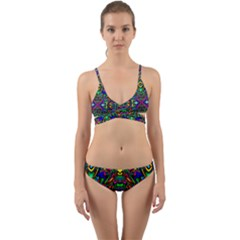 Artwork By Patrick Pattern 31 Wrap Around Bikini Set by ArtworkByPatrick