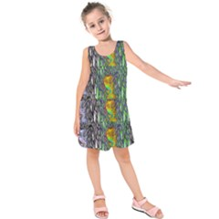 May Be A Woman In Manga Fire Kids  Sleeveless Dress by pepitasart