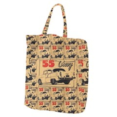 55 Chevy Giant Grocery Zipper Tote