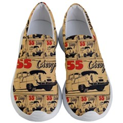 55 Chevy Women s Lightweight Slip Ons