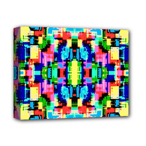 Artwork By Patrick  Colorful 1 Deluxe Canvas 14  X 11  by ArtworkByPatrick