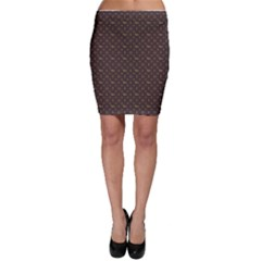 Louis Dachshund  Luxury Dog Attire Bodycon Skirt by PodArtist