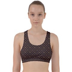 Louis Dachshund  Luxury Dog Attire Back Weave Sports Bra by PodArtist