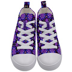 Colorful 3 Kid s Mid Top Canvas Sneakers
