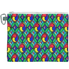 Colorful 4 Canvas Cosmetic Bag (xxxl) by ArtworkByPatrick