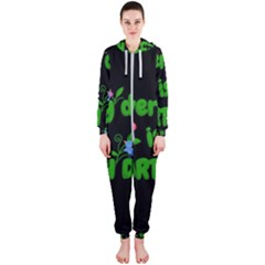 Earth Day Hooded Jumpsuit (ladies)