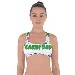 Earth Day Got No Strings Sports Bra by Valentinaart
