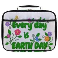 Earth Day Full Print Lunch Bag by Valentinaart