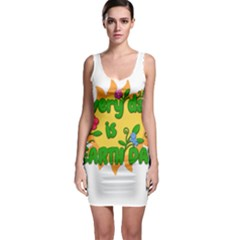 Earth Day Bodycon Dress