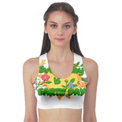 Earth Day Sports Bra