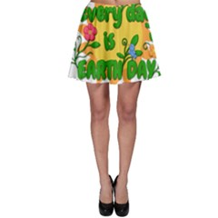 Earth Day Skater Skirt