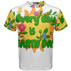 Earth Day Men s Cotton Tee