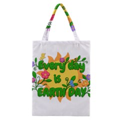 Earth Day Classic Tote Bag
