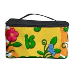 Earth Day Cosmetic Storage Case