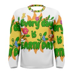 Earth Day Men s Long Sleeve Tee