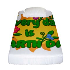 Earth Day Fitted Sheet (Single Size)