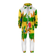 Earth Day Hooded Jumpsuit (Kids)