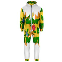 Earth Day Hooded Jumpsuit (Men)