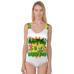 Earth Day Princess Tank Leotard