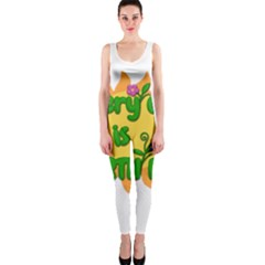 Earth Day One Piece Catsuit