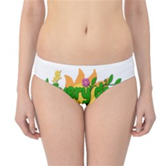 Earth Day Hipster Bikini Bottoms