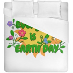 Earth Day Duvet Cover (King Size)