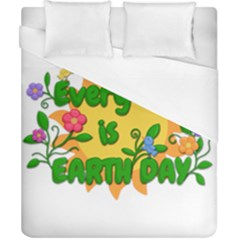 Earth Day Duvet Cover (California King Size)