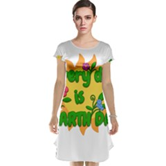 Earth Day Cap Sleeve Nightdress