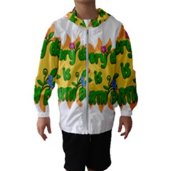 Earth Day Hooded Wind Breaker (Kids)