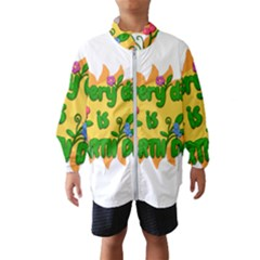 Earth Day Wind Breaker (Kids)