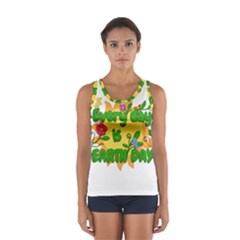 Earth Day Sport Tank Top