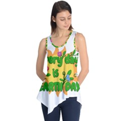 Earth Day Sleeveless Tunic