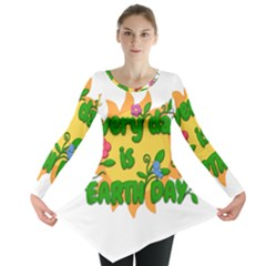 Earth Day Long Sleeve Tunic