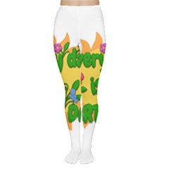 Earth Day Women s Tights by Valentinaart